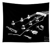 Guitar Ventura Head Stock 1 Tapestry