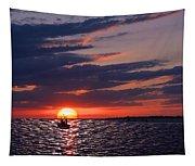 Gulf Coast Sunset Tapestry