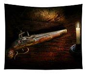 Gun - Pistol - Romance Of Pirateering Tapestry