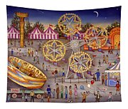 Gyro At The Carnival Tapestry