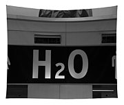 H2o In Black And White Tapestry