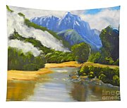 Haast River New Zealand Tapestry