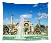 Haghia Sophia Fountain 02 Tapestry