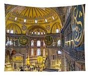 Hagia Sofia Interior 17 Tapestry