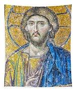 Hagia Sofia Jesus Mosaic Tapestry