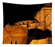 Hagia Sophia At Night Tapestry
