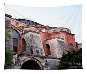 Hagia Sophia Buttresses Tapestry