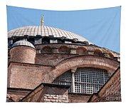 Hagia Sophia Curves 01 Tapestry