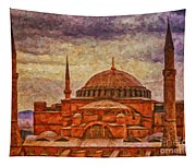 Hagia Sophia Digital Painting Tapestry