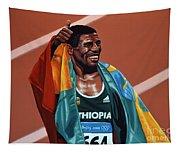 Haile Gebrselassie Tapestry