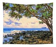 Hala Trees At Ka'anae Point Tapestry