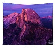Half Dome Glow Tapestry