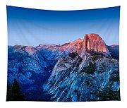 Half Dome Twilight Tapestry