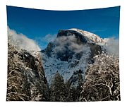 Half Dome Winter Tapestry