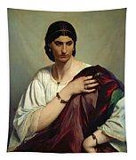 Half-length Portrait Of A Roman Woman Tapestry