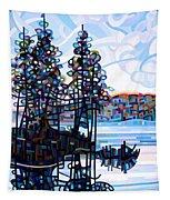 Haliburton Morning Tapestry by Mandy Budan