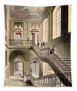 Hall And Staircase At The British Tapestry