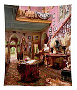 Hall And Staircase Of A Country House Tapestry