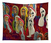 Halloween A Big Booo To You Tapestry