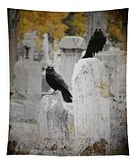 Halloween Is In The Autumn Air Tapestry