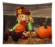 Halloween Doll Tapestry