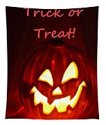 Halloween Trick Or Treat Tapestry