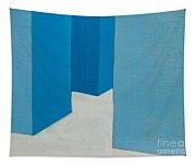 Hallway Blue Tapestry