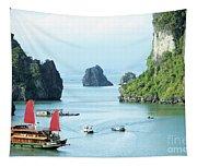 Halong Bay Sails 03 Tapestry