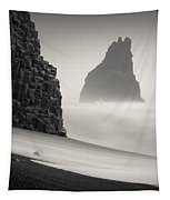Halsenifs Hellir Sea Stack Tapestry