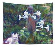 Hamilton In The Garden Tapestry
