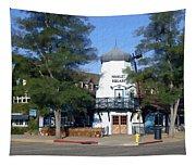 Hamlet Square Solvang California Tapestry
