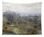 Hampstead Heath Looking Towards Harrow On The Hill Tapestry