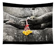 Hands Of Buddha Tapestry