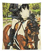 Hang On Tight To Your Painted Horse Tapestry