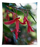 Hanging Asian Lillies Tapestry