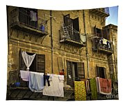 Hanging Out To Dry In Palermo  Tapestry