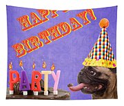 Happy Birthday Card Tapestry