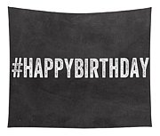 Happy Birthday Card- Greeting Card Tapestry