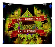 Happy Christmas From Sydney Tapestry