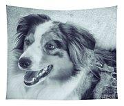 Happy Dog Tapestry