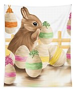 Happy Easter 2013 Tapestry by Veronica Minozzi