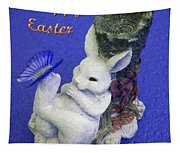 Happy Easter Card 3 Tapestry