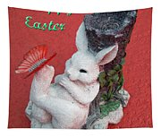 Happy Easter Card 5 Tapestry