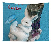 Happy Easter Card 7 Tapestry