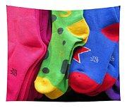 Wear Loud Socks Tapestry