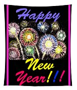 Happy New Year Tapestry