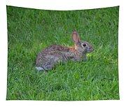 Happy Rabbit Tapestry