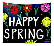 Happy Spring Tapestry