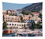 Harbor, Kalkan, Turkey Tapestry