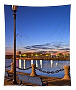 Harbor Lights Tapestry